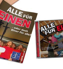 """Musical """"Alle für Einen"""""""