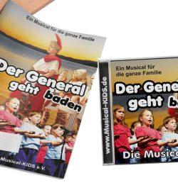 "Musical ""Der General geht baden"""